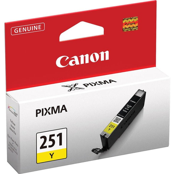 Canon CLI-251Y Ink Cartridge - Yellow
