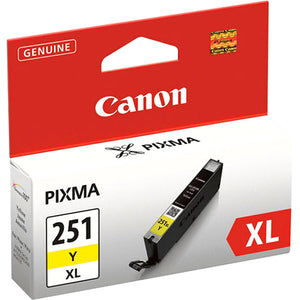 Canon CLI-251XL Ink Cartridge - Yellow