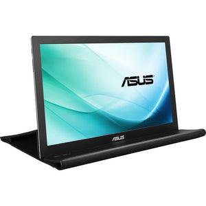 "Asus MB169B+ 15.6"" Full HD LED LCD Monitor - 16:9 - Silver, Black"