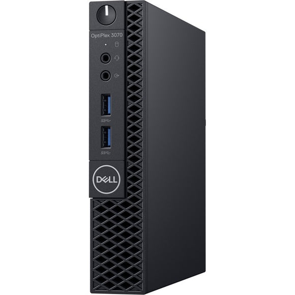 Dell OptiPlex 3000 3070 Desktop Computer - Core i5 i5-9500T - 8 GB RAM - 256 GB SSD - Micro PC