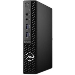 Dell OptiPlex 3000 3080 Desktop Computer - Intel Core i5 10th Gen i5-10500T Hexa-core (6 Core) 2.30 GHz - 8 GB RAM DDR4 SDRAM - 128 GB SSD - Micro PC