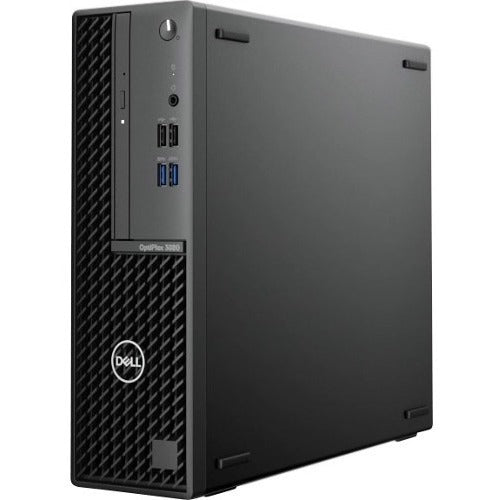 Dell OptiPlex 3000 3080 Desktop Computer - Intel Core i3 10th Gen i3-10100 Quad-core (4 Core) 3.60 GHz - 8 GB RAM DDR4 SDRAM - 128 GB SSD - Small Form Factor