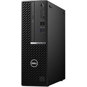 Dell OptiPlex 5000 5080 Desktop Computer - Intel Core i5 10th Gen i5-10500 Hexa-core (6 Core) 3.10 GHz - 8 GB RAM DDR4 SDRAM - 256 GB SSD - Small Form Factor