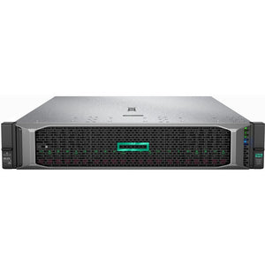 HPE ProLiant DL385 G10 2U Rack Server - 1 x EPYC 7452 - 16 GB RAM HDD SSD - 12Gb-s SAS Controller