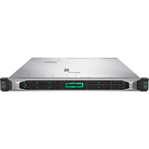 HPE ProLiant DL360 G10 1U Rack Server - 1 x Xeon Silver 4208 - 16 GB RAM HDD SSD - Serial ATA-600, 12Gb-s SAS Controller