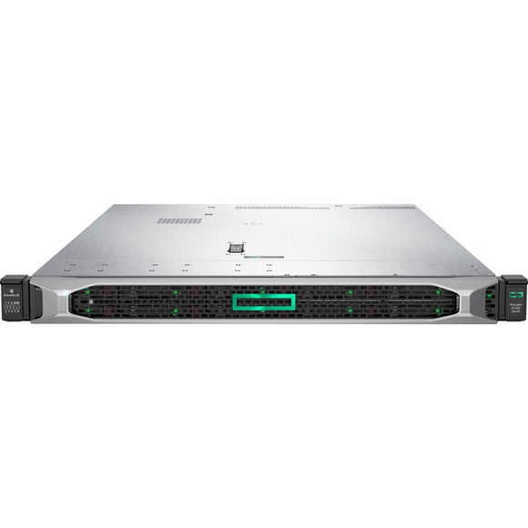 HPE ProLiant DL360 G10 1U Rack Server - 1 x Xeon Silver 4214 - 16 GB RAM HDD SSD - Serial ATA-600, 12Gb-s SAS Controller