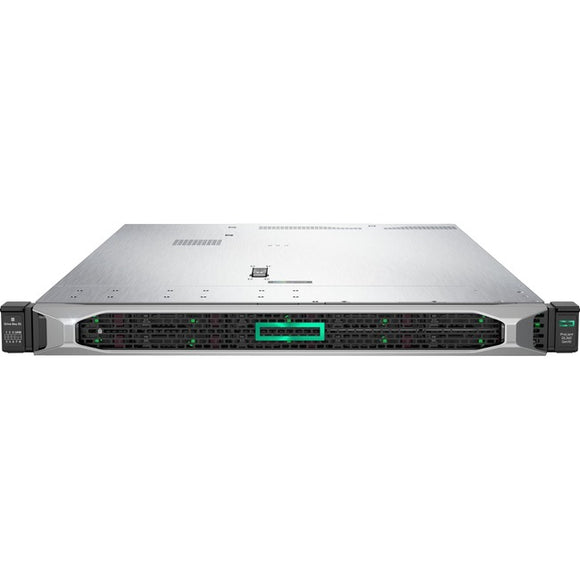 HPE ProLiant DL360 G10 1U Rack Server - 1 x Xeon Silver 4208 - 16 GB RAM HDD SSD - Serial ATA-600 Controller
