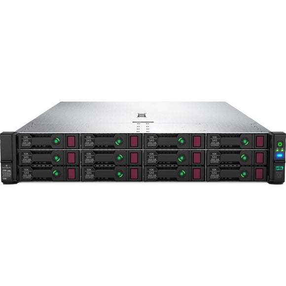 HPE ProLiant DL380 G10 2U Rack Server - 1 x Xeon Gold 6242 - 32 GB RAM HDD SSD - Serial ATA-600, 12Gb-s SAS Controller