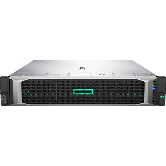 HPE ProLiant DL380 G10 2U Rack Server - 1 x Xeon Silver 4208 - 32 GB RAM HDD SSD - Serial ATA-600, 12Gb-s SAS Controller