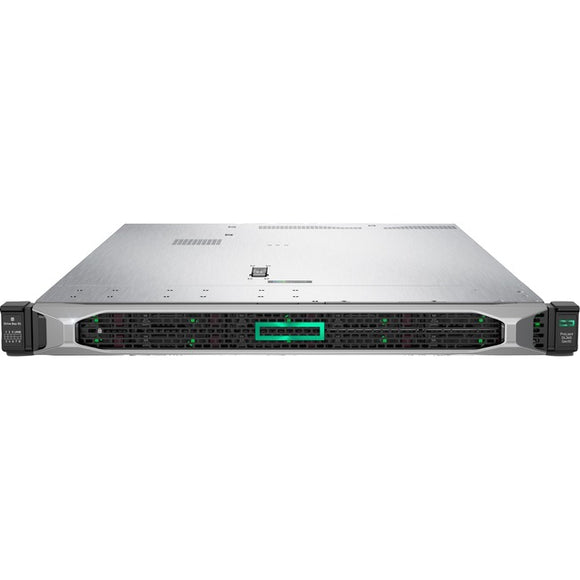 HPE ProLiant DL360 G10 1U Rack Server - 1 x Xeon Silver 4210R - 16 GB RAM HDD SSD - Serial ATA-600, 12Gb-s SAS Controller