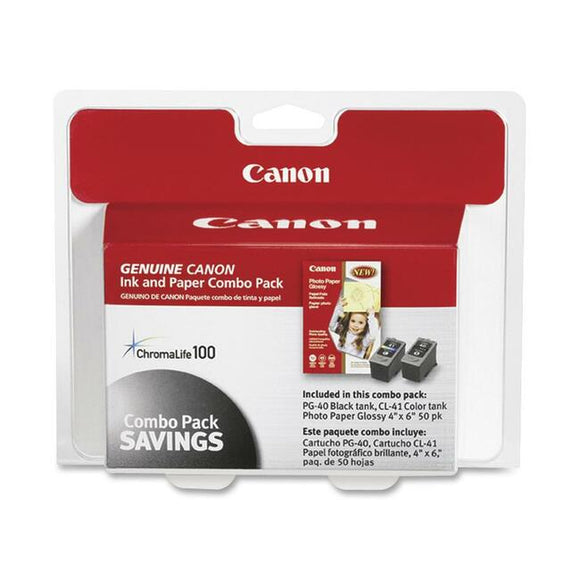 Canon PG-40-CL-41 Print Cartridge-Paper Kit