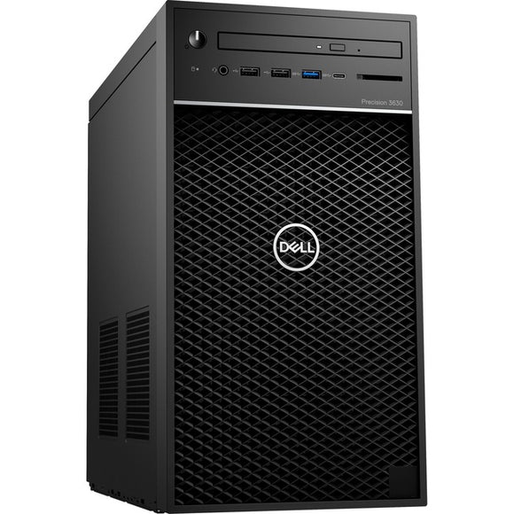 Dell Precision 3000 3630 Workstation - Core i7 i7-9700K - 16 GB RAM - 256 GB SSD - Mini-tower