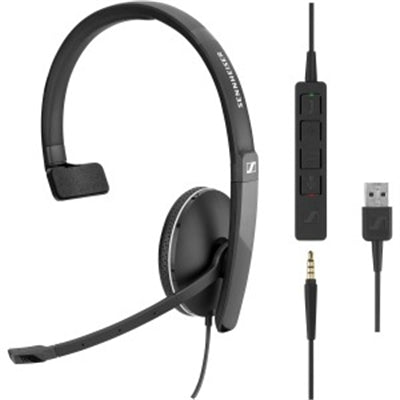 One Side headset 3.5mm w USB