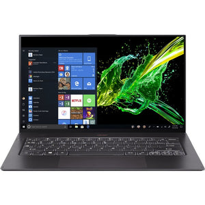 "Acer Swift 7 SF714-52T-70CE 14"" Touchscreen Notebook - 1920 x 1080 - Core i7 i7-8500Y - 16 GB RAM - 512 GB SSD - Black"