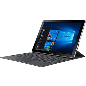 "Samsung Galaxy Book SM-W723 12"" Touchscreen 2 in 1 Notebook - 2160 x 1440 - Intel Core i5 (7th Gen) i5-7200U Dual-core (2 Core) 2.50 GHz - 8 GB RAM - 256 GB SSD - Silver"