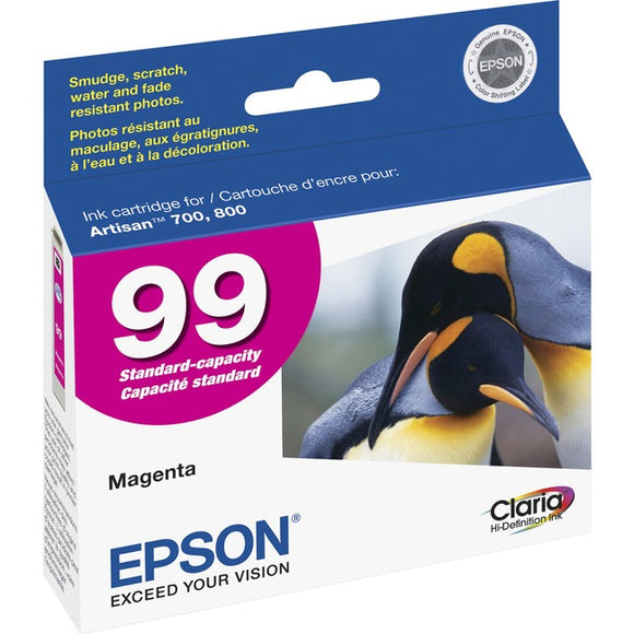 Epson Claria No. 99 Original Ink Cartridge