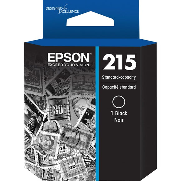 Epson 215 Ink Cartridge - Black