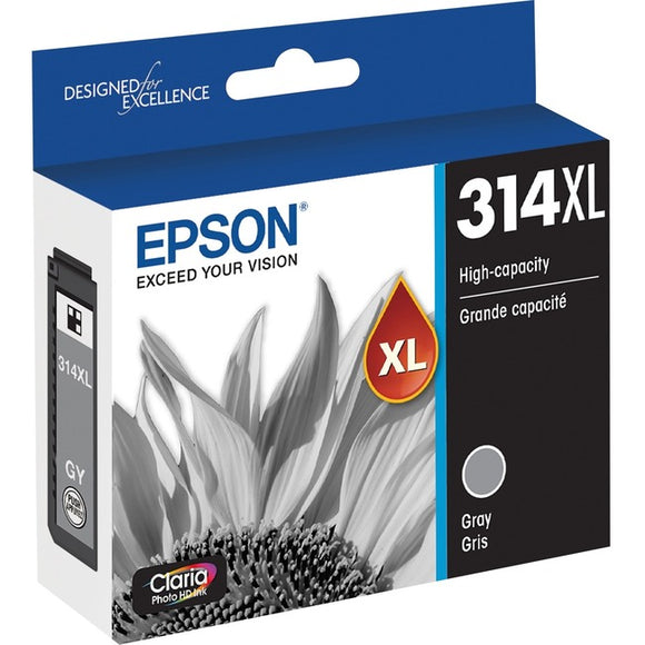 Epson Claria Photo HD T314XL Ink Cartridge - Gray