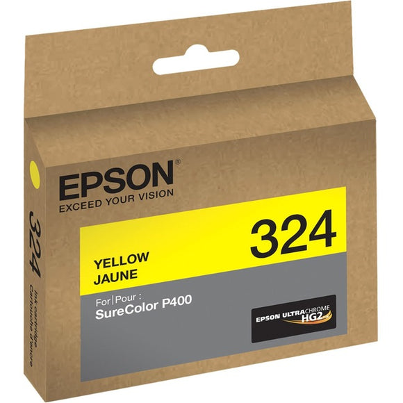 Epson UltraChrome 324 Ink Cartridge - Yellow