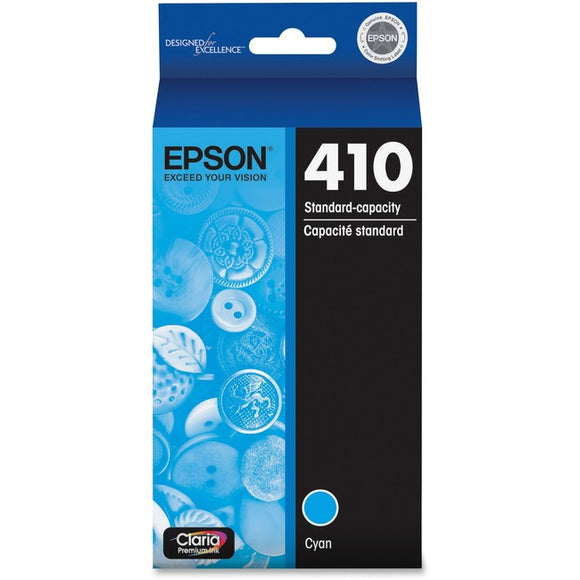 Epson Claria 410 Ink Cartridge - Cyan