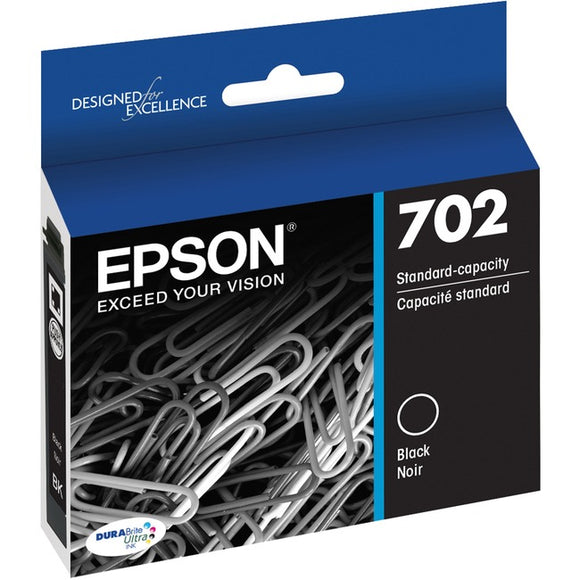 Epson DURABrite Ultra T702 Ink Cartridge - Black