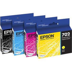 Epson DURABrite Ultra T702 Ink Cartridge - Cyan, Magenta, Yellow