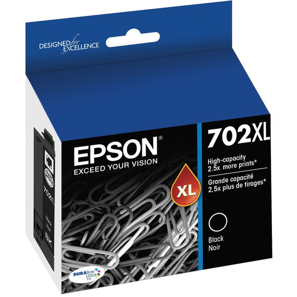 Epson DURABrite Ultra T702XL Ink Cartridge - Black