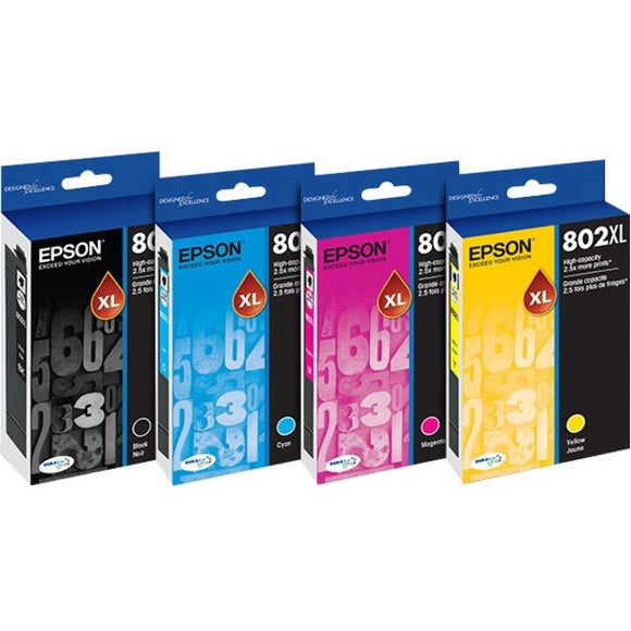 Epson DURABrite Ultra 802XL Ink Cartridge - Magenta