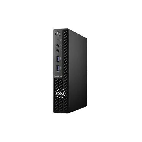 Dell OptiPlex 3000 3080 Desktop Computer - Intel Core i3 10th Gen i3-10100T Quad-core (4 Core) 3 GHz - 4 GB RAM DDR4 SDRAM - 500 GB HDD - Micro PC