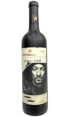 19 crimes red wine by Snoop Dog