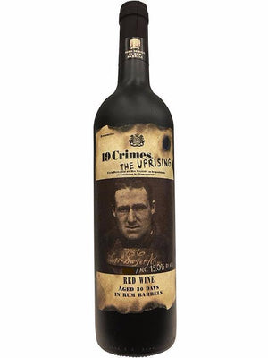 19 Crimes The Uprising Red Wine Aged In Rum Barrels