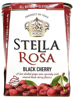 Stella Rosa Can Wine 2-Pack Can Stella Rosa Black Cherry 250ml Can