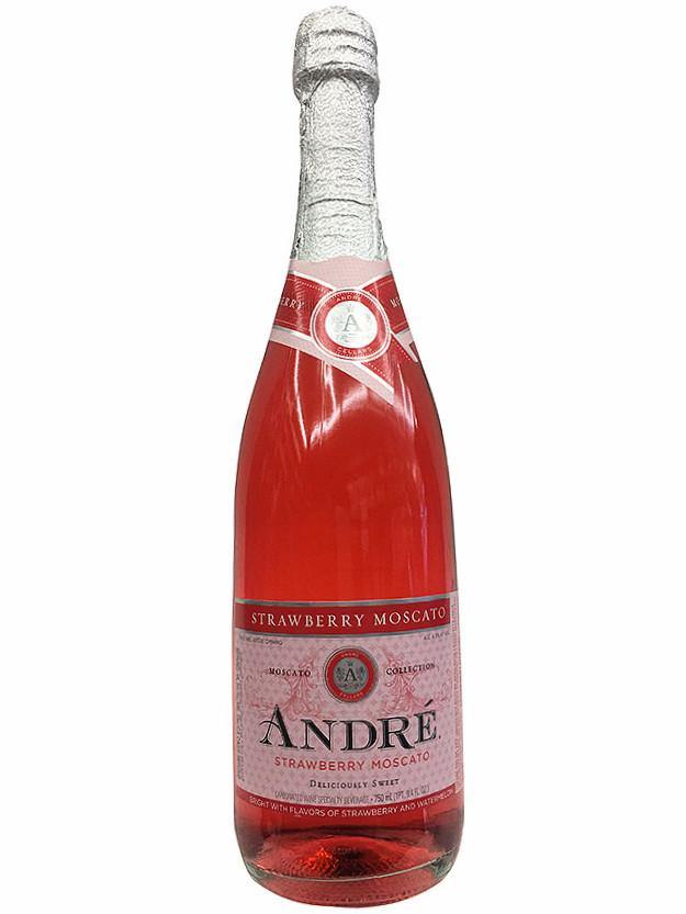 Andre Strawberry Moscato
