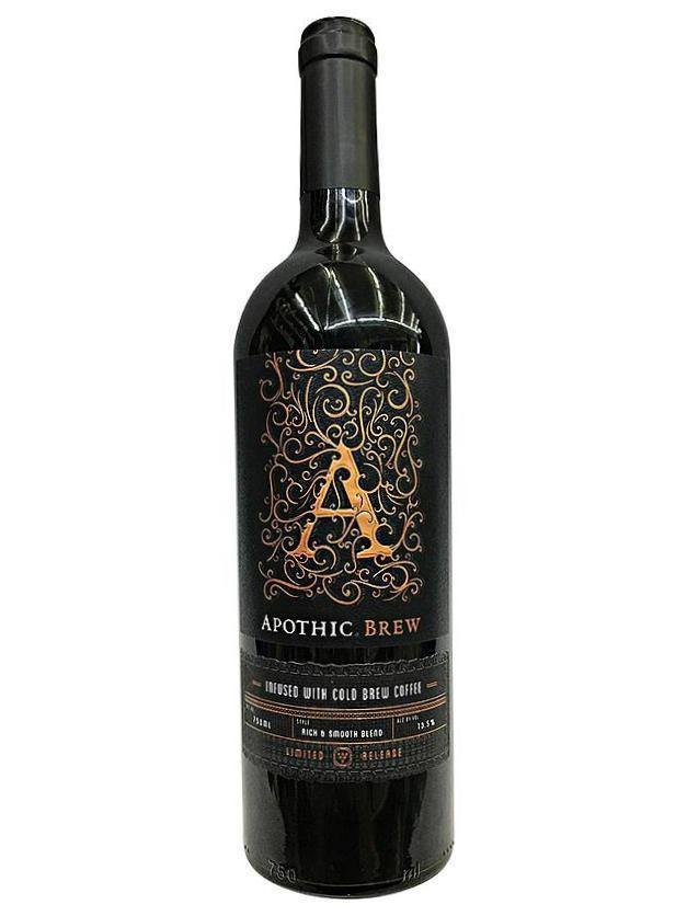 Apothic releasing wine thats infused cold brew coffee
