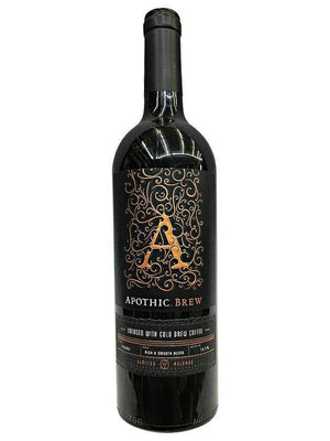 Apothic Brew Infused With Cold Brew Coffee