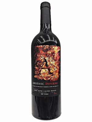 Apothic Inferno Aged In Whiskey Barrels Red Blend