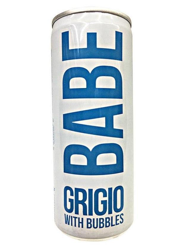 Babe Grigio With Bubbles Mini Can
