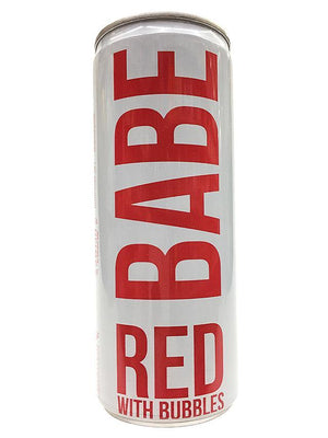 Babe Red With Bubbles Mini Can