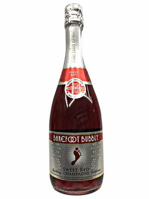 Barefoot Cellars Bubbly Sweet Red Champagne