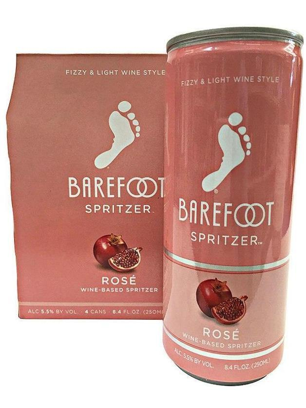 Barefoot Spritzer Rosé 4 Pack Can's