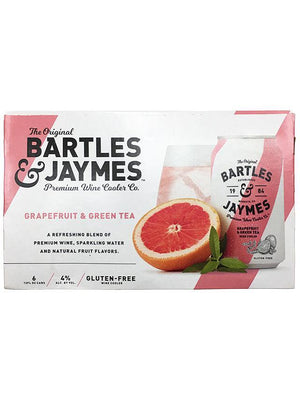 Bartles and Jaymes Grapefruit and Green Tea Mini Can(s) 6-Pack