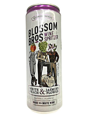 Blossom Bros White Peach & Jasmine Flower Can
