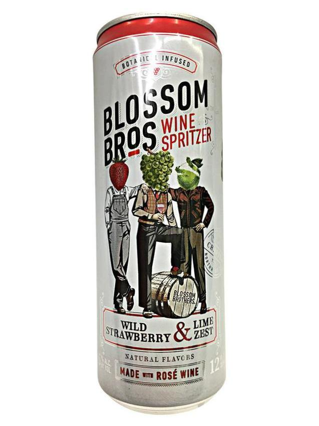 Blossom Bros Wild Strawberry & Lime Zest Can