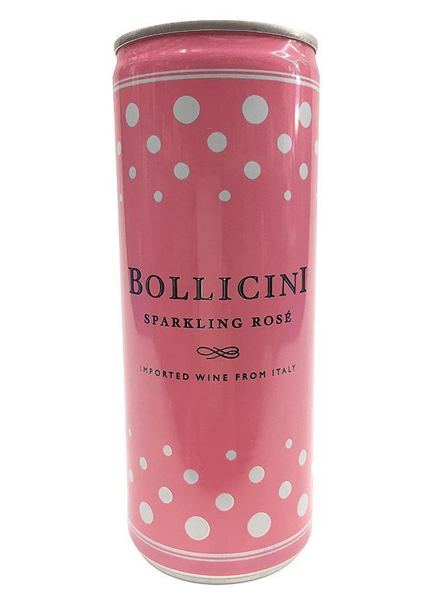 Bollicini Sparkling Rosé Mini Split Can 187ml