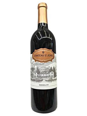 Chateau Saint Jean California Merlot Red Wine