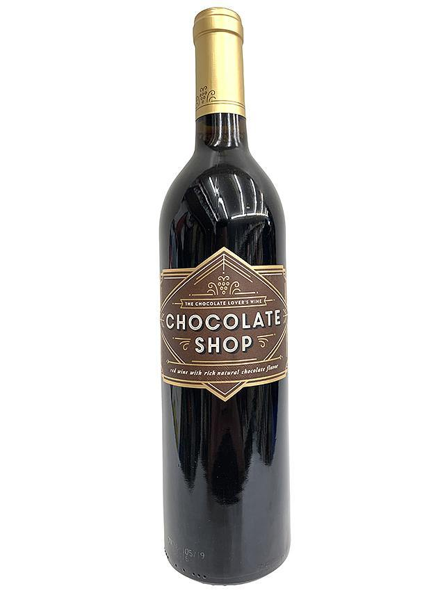 Chocolate Shop Chocolate Red Wine