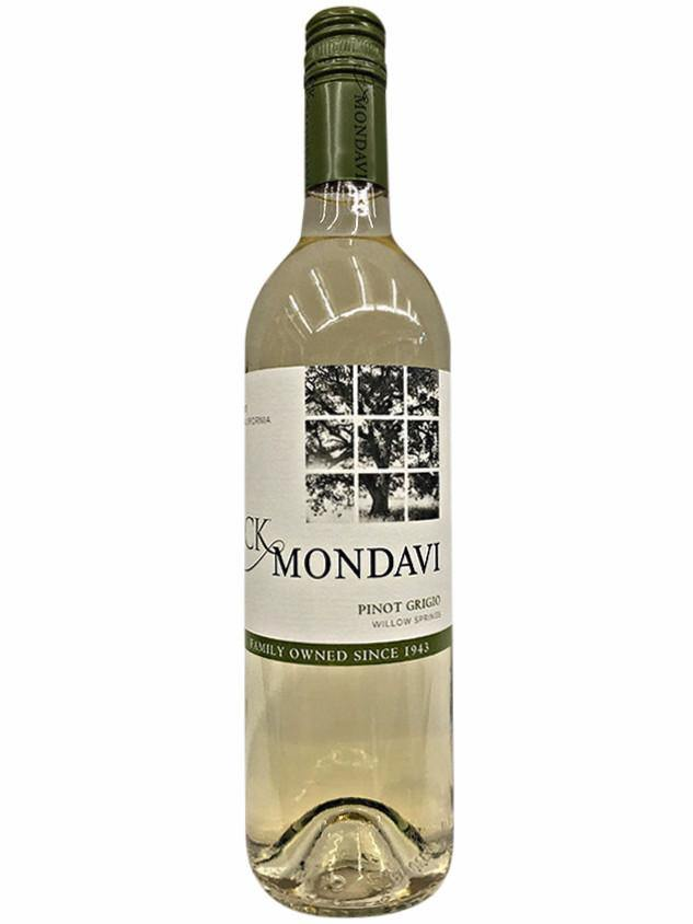 CK Mondavi Family Vineyards Willow Springs Pinot Grigio