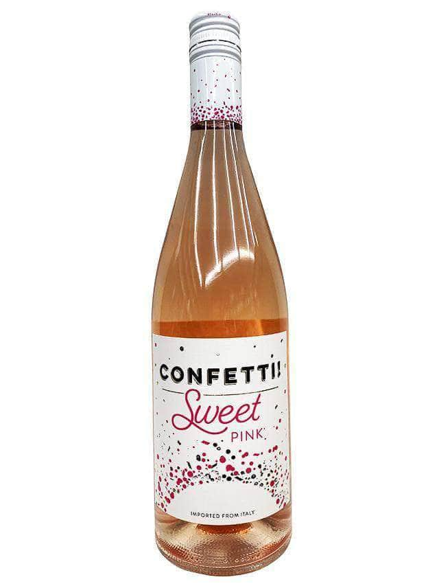 The Best Wine Store Wine Confetti Sweet Pink Wine
