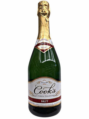 Cook's Cellars California Champagne Brut