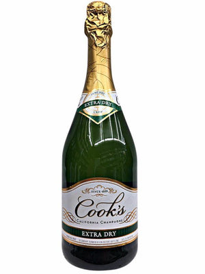 Cook's Cellars California Champagne Extra Dry